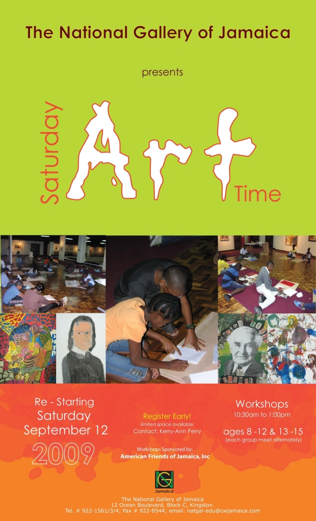 Saturday Art Time - children's art workshops on Saturday mornings