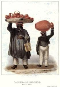 Isaac Mendez Belisario - Water-Jar Sellers, Sketches of Character (1837-38), Collection: Hon. Maurice and Valerie Facey