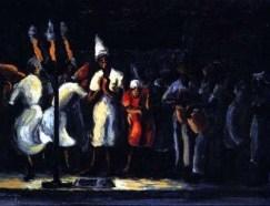 David Pottinger - Nine Night (1949), Collection: NGJ