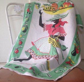 Rhoda Jackson - souvenir tea towel (Jamaica)