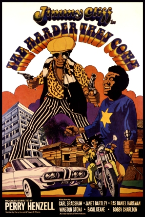 Film poster - The Harder They Come (1972), courtesy of the Perry Henzell estate