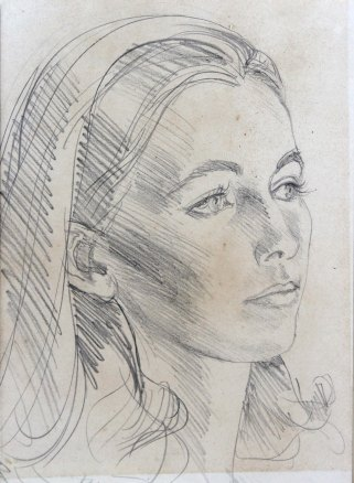 Angela Landels - Portrait of Annabella (c1979), Annabella and Peter Proudlock Collection