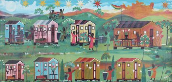 Albert Artwell - Untitled (Six Stars, Eight Houses) (n.d.),Annabella and Peter Proudlock Collection