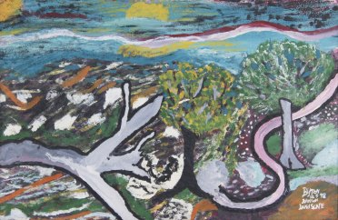 Byron Johnson - Landscape (1998),Annabella and Peter Proudlock Collection