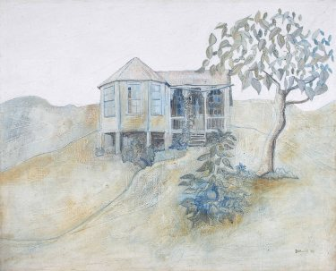 Graham Davis - Frienship Cottage (1980), Annabella and Peter Proudlock Collection