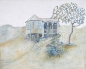 Graham Davis - Friendship Cottage (1980), Annabella and Peter Proudlock Collection