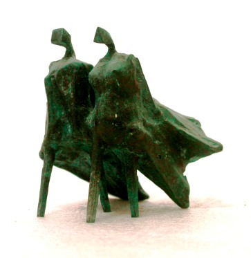 Lynn Chadwick - Walking Cloaked Figures (n.d.). Annabella and Peter Proudlock Collection