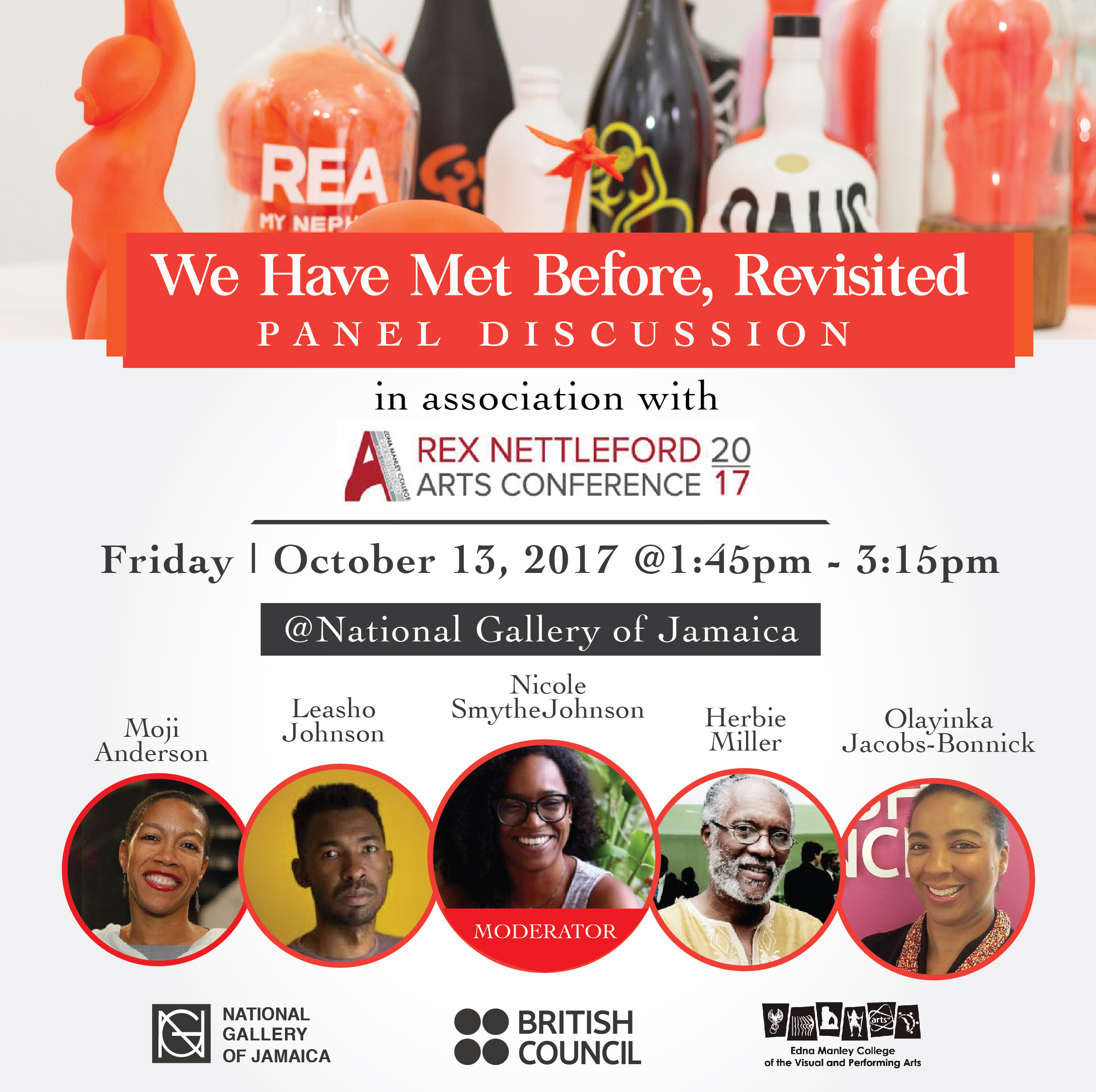 We have met before national gallery of jamaica blog the national gallery of jamaica is pleased to present the panel discussion we have met before revisited which will take place at the national gallery on malvernweather Images